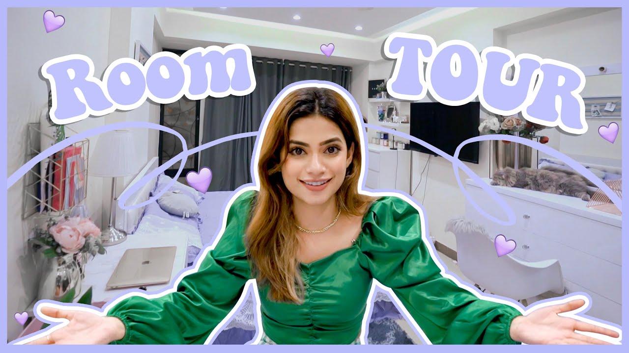 Download I will miss my room 🥺😭💜 || Room tour 🏠  || Nagma Mirajkar