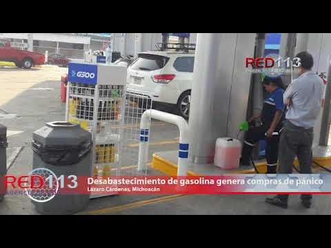 VIDEO Desabastecimiento de gasolina en Morelia y  otros estados genera compras de pánico en LC