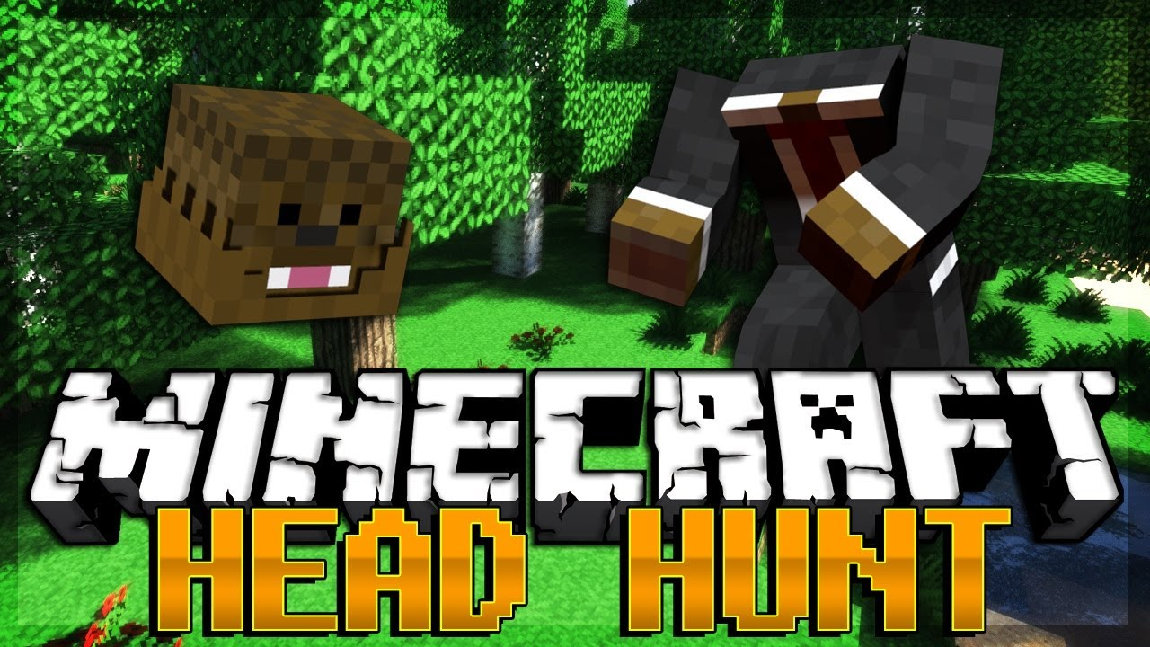 Brand New Minecraft Head Hunter Minigame Youtube