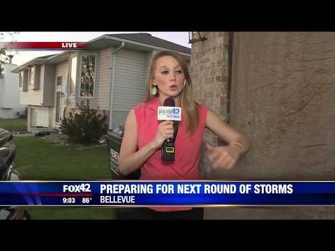 Bellevue Nebraska Tornadoes (6/16/17) [Video Compilation]