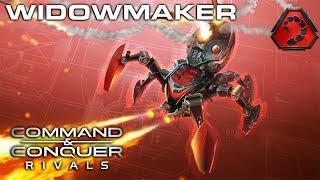 Command and Conquer: Rivals WIDOWMAKER NEW UNIT REVIEW AND STRATEGY NOD Matches