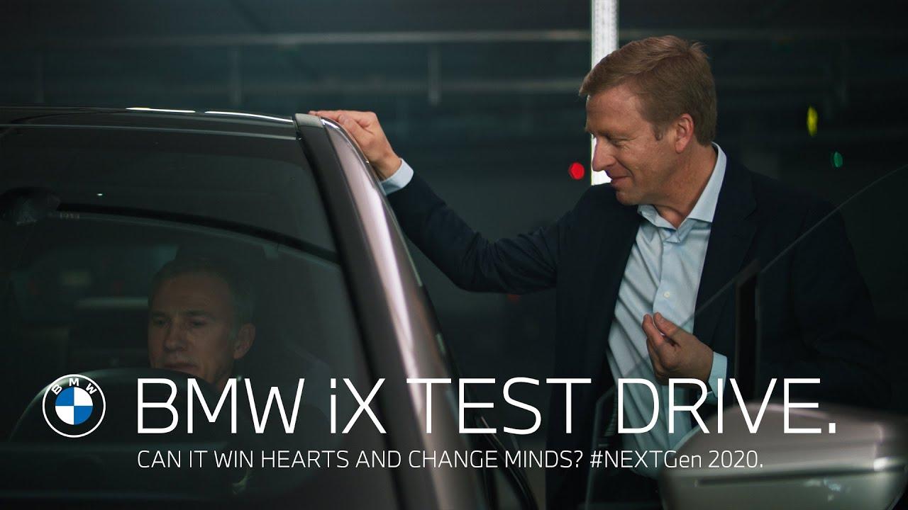 BMW iX Test Drive. | #NEXTGen 2020.