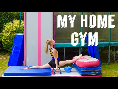 My Home Gymnastics Equipment!