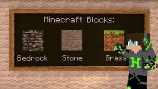 Minecraft Okul'dan Kaçma Sanatı !!!