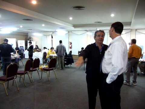 II MAGISTRAL DE ASUNCION- VISITA DEL MINISTRO DE DEPORTES DEL PARAGUAY