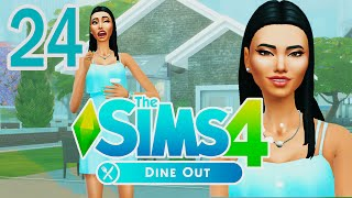 Let's Play The Sims 4 Dine Out [Part 24] Bachelorette Party!