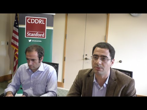 "ARD Stanford: Amr Hamzawy on ""How Egyptian Liberals Endorse Autocracy,"" Oct 27 2015"