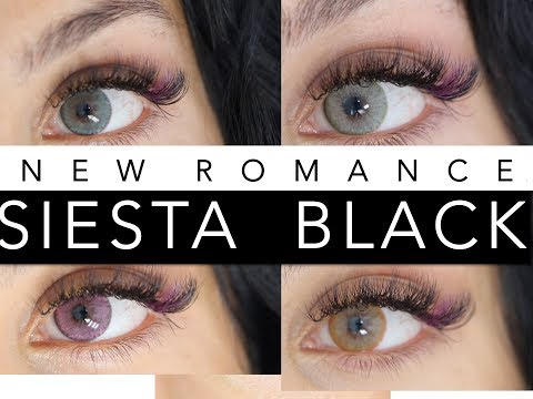 New SIESTA Black Romance More Colours With Discount Code //Rose Léonie