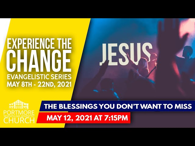 005 - THE BLESSING YOU DON'T WANT TO MISS| PASTOR MICHAEL CHARLES