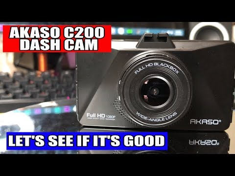 AKASO C200 DASH CAM REVIEW