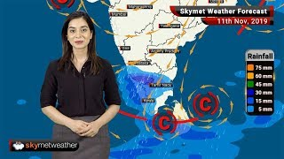 Weather Forecast Nov 11: Effect of Cyclone Bulbul to shift over to Northeast states