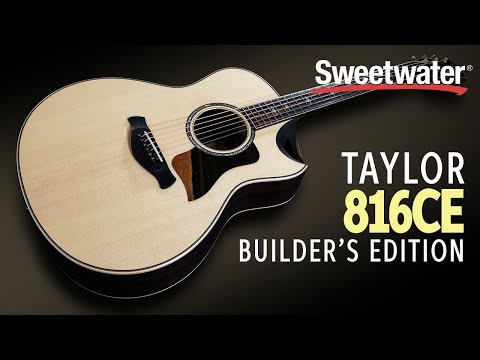 Taylor 816ce Builder's Edition Acoustic-electric Guitar Demo
