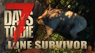 Schwein gehabt  | Lone Survivor 020 | 7 Days to Die Alpha 17 Gameplay German Deutsch thumbnail