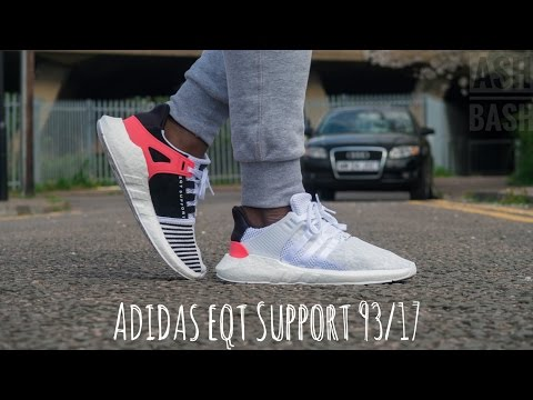 Adidas EQT Support 93:17 | White | Ash Bash