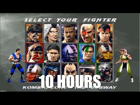 Mortal Kombat 3 - Character Select Theme Extended (SNES) (10 Hours)