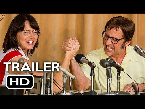 Battle of the Sexes Official Trailer #1 (2017) Emma Stone, Steve Carell Comedy Movie HD streaming vf