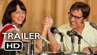 Battle of the Sexes Official Trailer #1 (2017) Emma Stone, Steve Carell Comedy Movie HD
