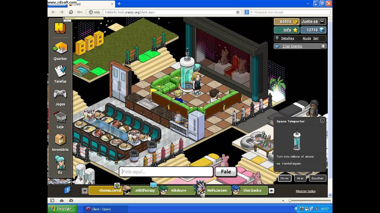 Bbb no habbo final youtube for Bb b