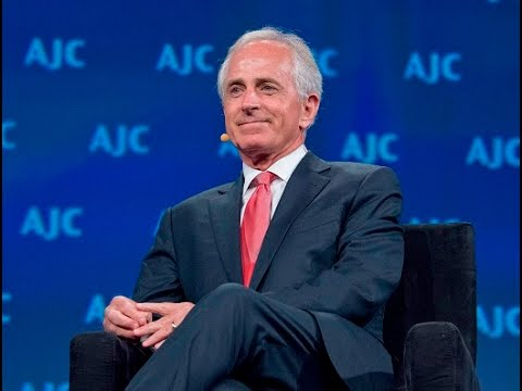 Senator Corker speaks at American Jewish Committee Global Forum
