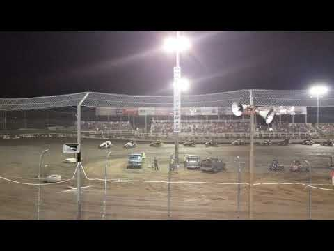 Macon Speedway D2 Midget Feature 06/01/19