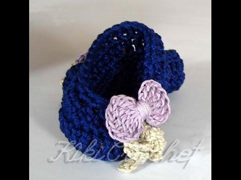 Πλεκτες Καλοκαιρινες Μπαλαρινες/ Crochet Summer Mary Janes Tutorial