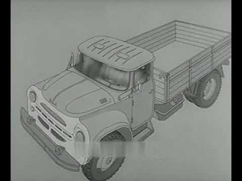 ТОРМОЗНАЯ СИСТЕМА АВТОМОБИЛЯ ЗИЛ-130 (1983г)