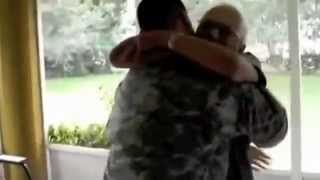 Military Homecoming Surprise --I bet you cry if you watch it all!