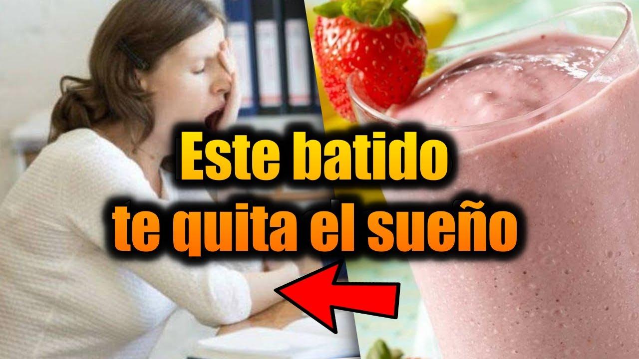 Batido energético de fresas, banana y linaza ¡DELICIOSO!