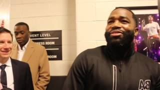 'NO BAD HISTORY!' - ADRIEN BRONER REVEALS MEETING HE HAD AT BOB ARUM'S HOUSE
