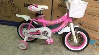 Xe đạp Cho bé gái nhập khẩu từ 2-5 tuổi . 0962606669. Xedaptrinx.vn . Xe đạp trẻ em nhập khẩu . lan