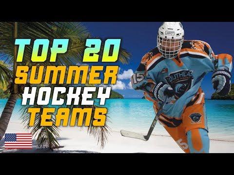 Top 20 Summer Hockey Teams - USA