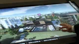 Junic - on location - Interactive real estate application for multitouch screen in realtime 3D