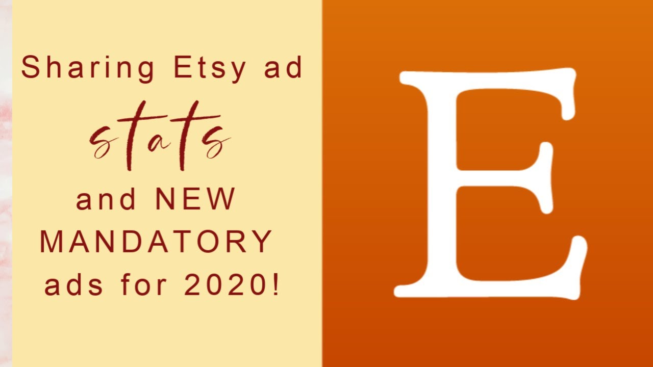 Etsy mandatory off-site ads: comparing with current ads. Thoughts from an Etsy shop owner