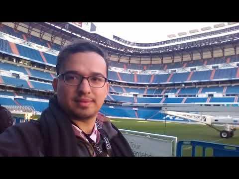 #whirlselfiechallenge  Estadio Santiago Bernabéu