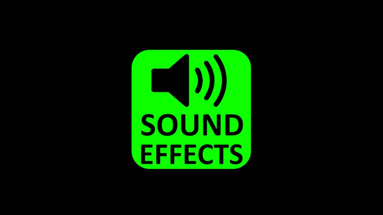 Free sound effect categories