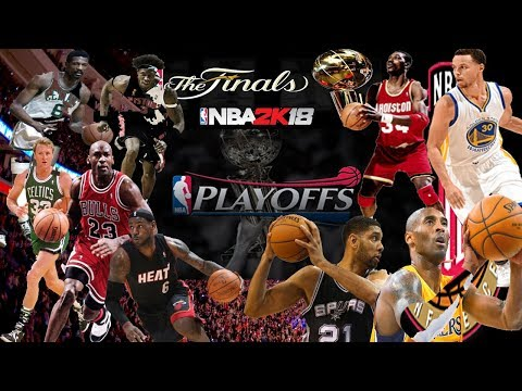 NBA2K18 Greatest Historic Teams Playoffs Simulation