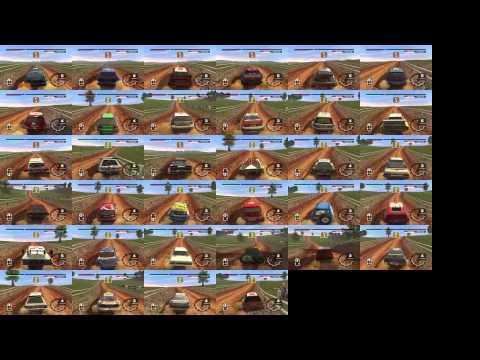 Colin McRae Rally 2005 Australia Stage 8 Compare 34 Cars