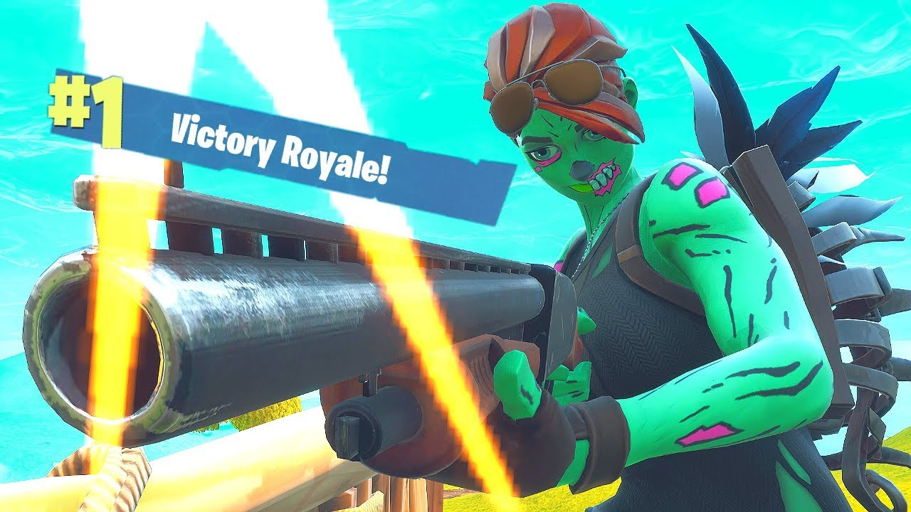 Ghoul Trooper Solo Win Ps4 Fortnite Victory Royale Halloween Skin Youtube