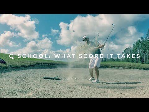 Q School: What Score It Takes To Qualify