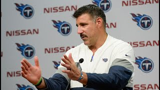 Titans Coach Mike Vrabel: The Players Went Out There and Won It