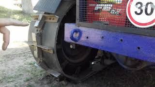 Обзор, гусеничного мини трактора ''Русич т15''