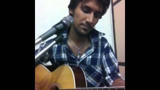 Sun raha hai na tu(aashiqui 2) song on guitar........by arpit.