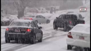 (Short version)Cars Sliding & Crashing in Bountiful, UT, 400 north bountiful ut 1/21/2012