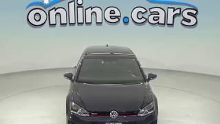 A98562JA Used 2017 Volkswagen Golf GTI S FWD 4D Hatchback Blue Test Drive, Review, For Sale