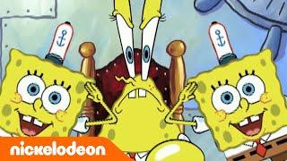 Bob Esponja | Imitando todo mundo | Nickelodeon em Português