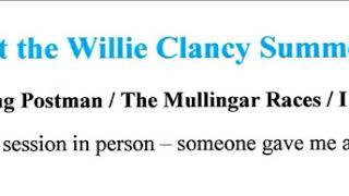 Pub session at Willie Clancy Week : 1991