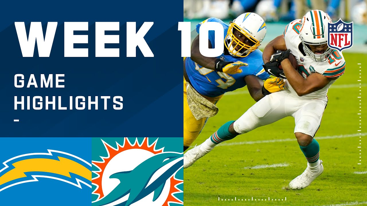 Download Chargers vs. Dolphins Week 10 Highlights | NFL 2020