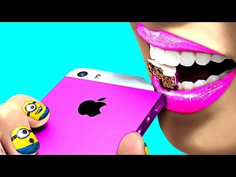 WOW! Back To School 'DIY' Edible Gadget Pranks! So Funny!!!