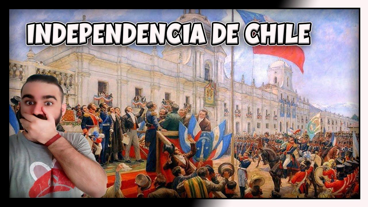 ESPAÑOL REACCIONA a LA INDEPENDENCIA DE CHILE en 5 MINUTOS