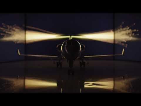 Dévoilement de l'avion Challenger 3500